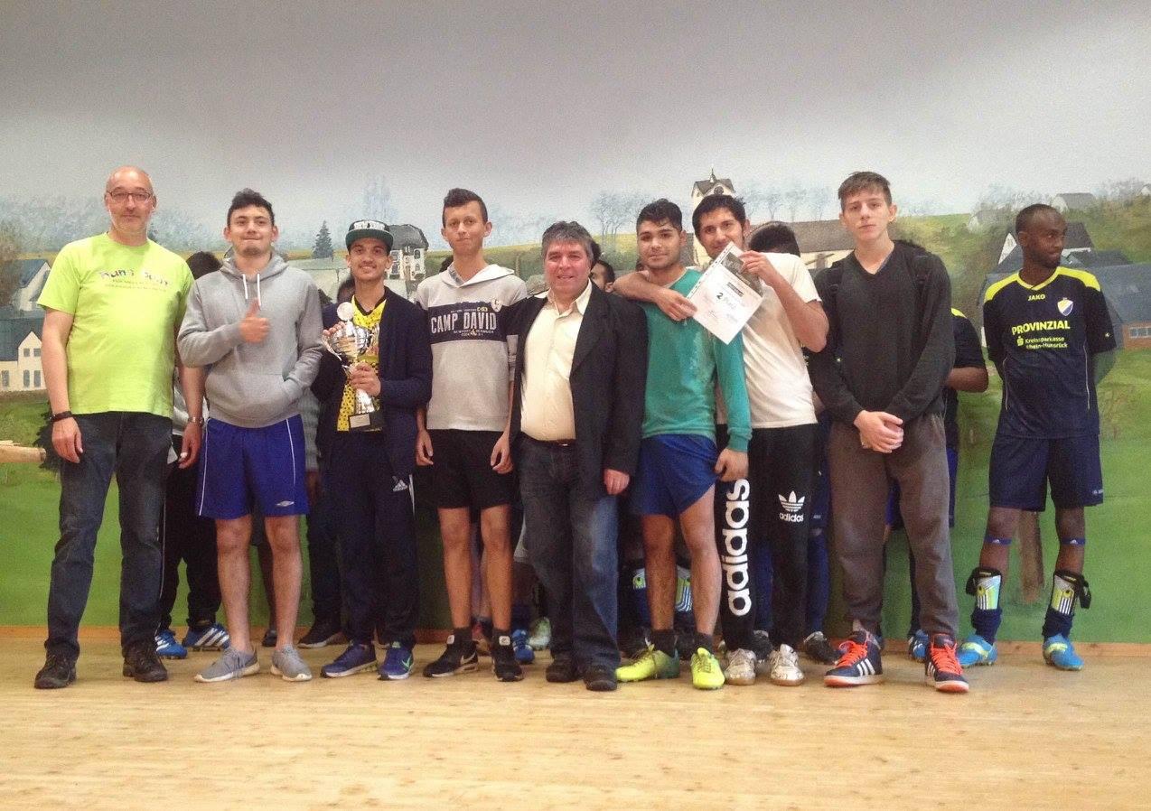 2. Sieger Team Obstsalat