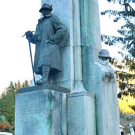 """""""Il monumento al Generale a Cortina d'Ampezzo"""""""