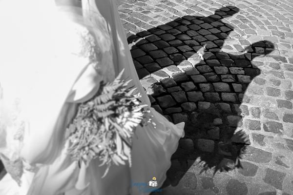 Sposi a passeggio per Roma dopo il matrimonio