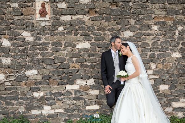 Fotografie di matrimonio sull'Appia Antica