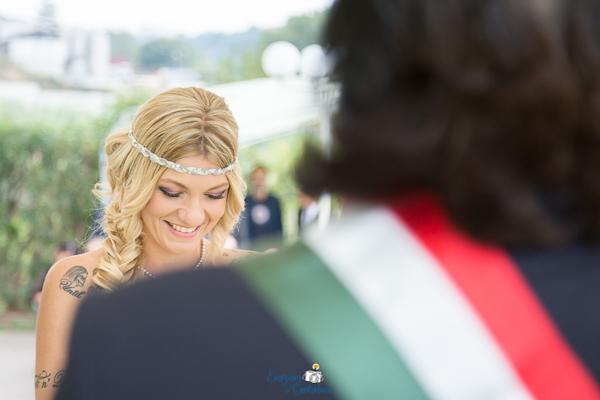 La sposa ed il celebrante