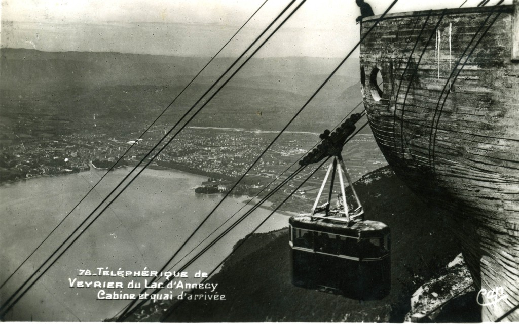 TELEPHERIQUE DE VEYRIER DU LAC 1938