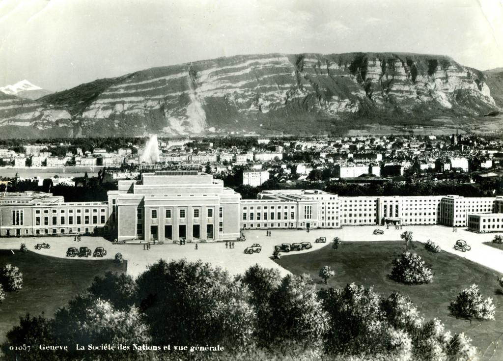 LA SDN A GENEVE 1936