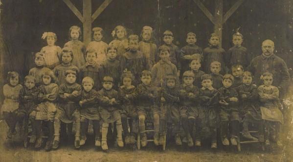 Ecole d'Escoussans en 1920-1921 (Pierre COLIN, instituteur)