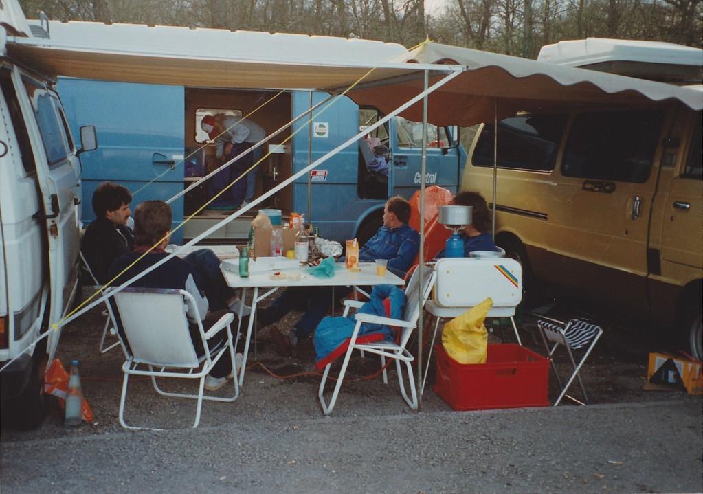 Fahrerlager Biesheim so ca. 1993