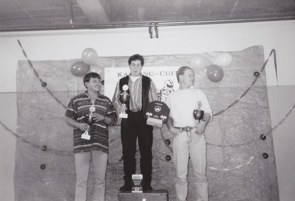 Podescht 1995 Chrigel, dr chlin Trottmann und Brünel