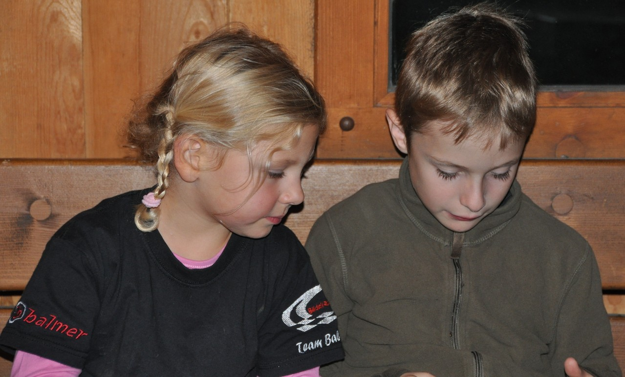 Die Jüngsten Lucie und Benny