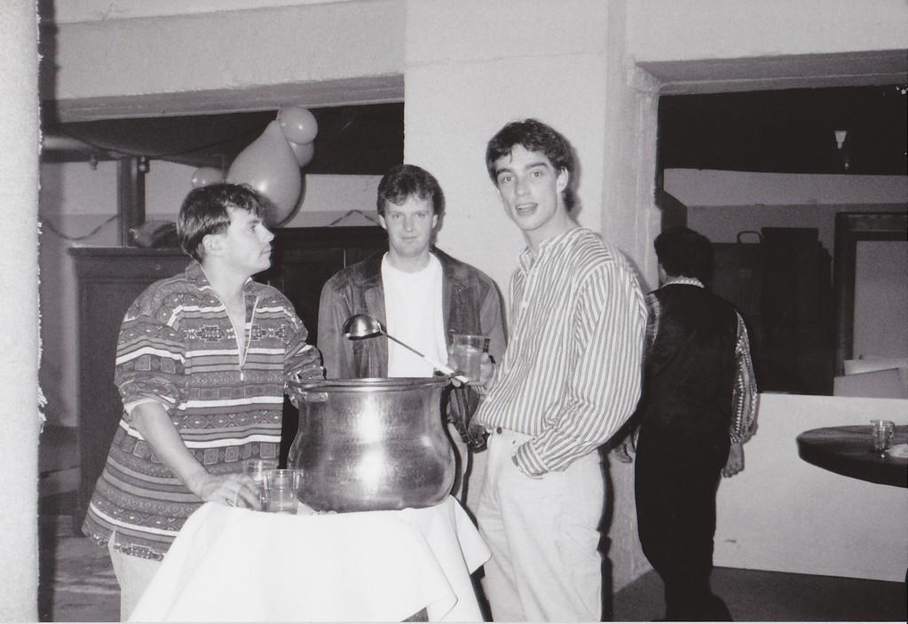 Chrigel, Andres und Röfi