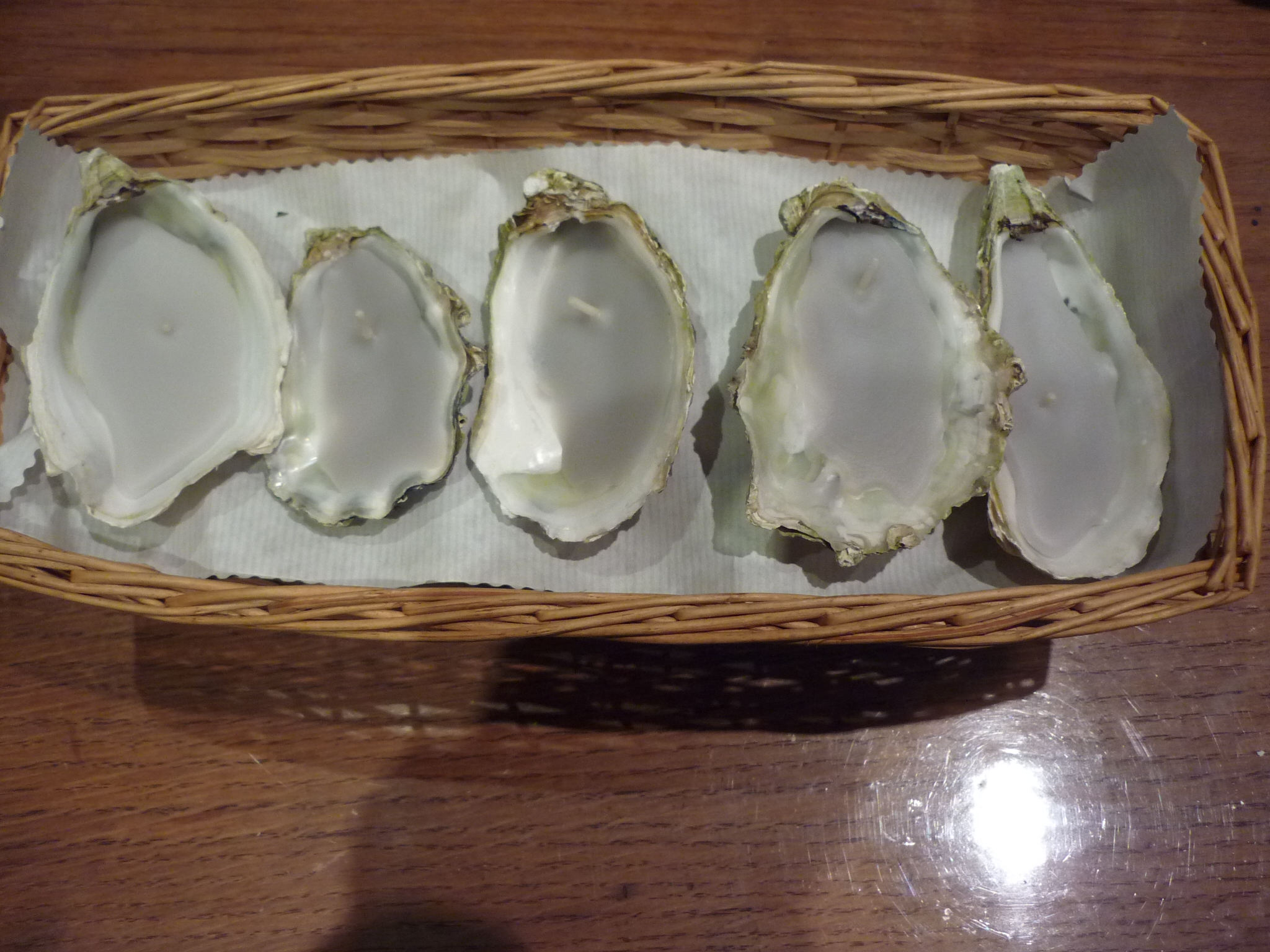 n°243 corbeille d'huîtres