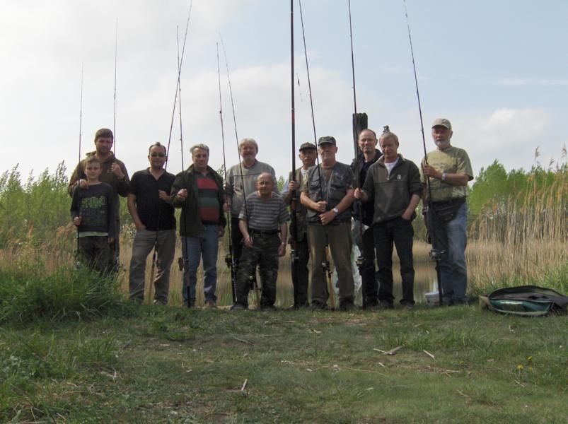 Die Teilnehmer des Angeltages