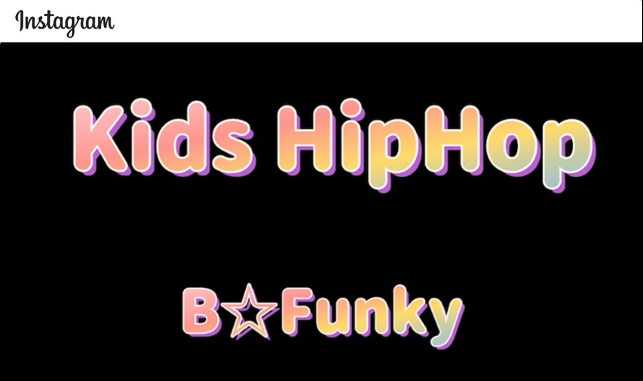 ≼B☆Funky≽KIDS HipHop #2