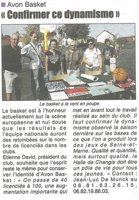 République de Seine et Marne - 10 Sept 2011