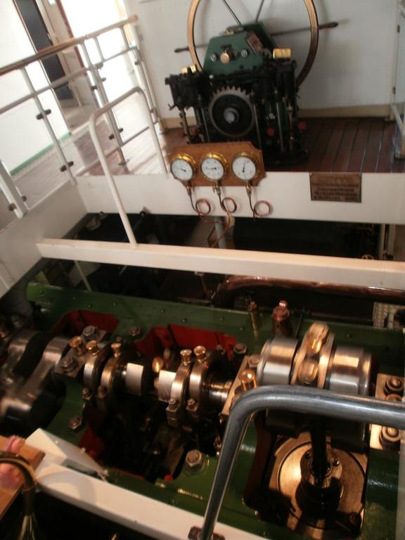 Die Damfmaschien läuf auch nach über 100 Jahren