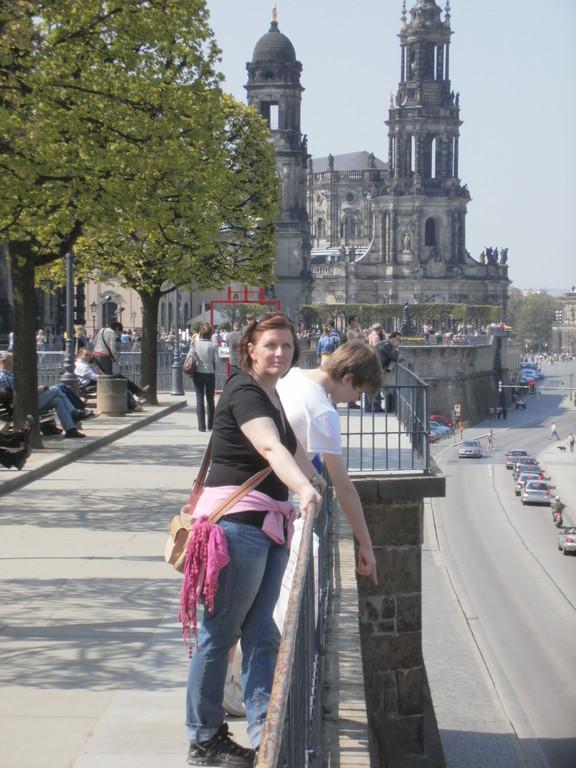 Bick auf die Elbe