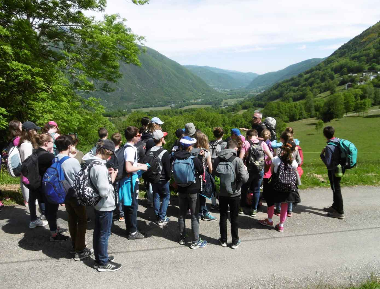 Lecture de paysage en vallée d'Aure