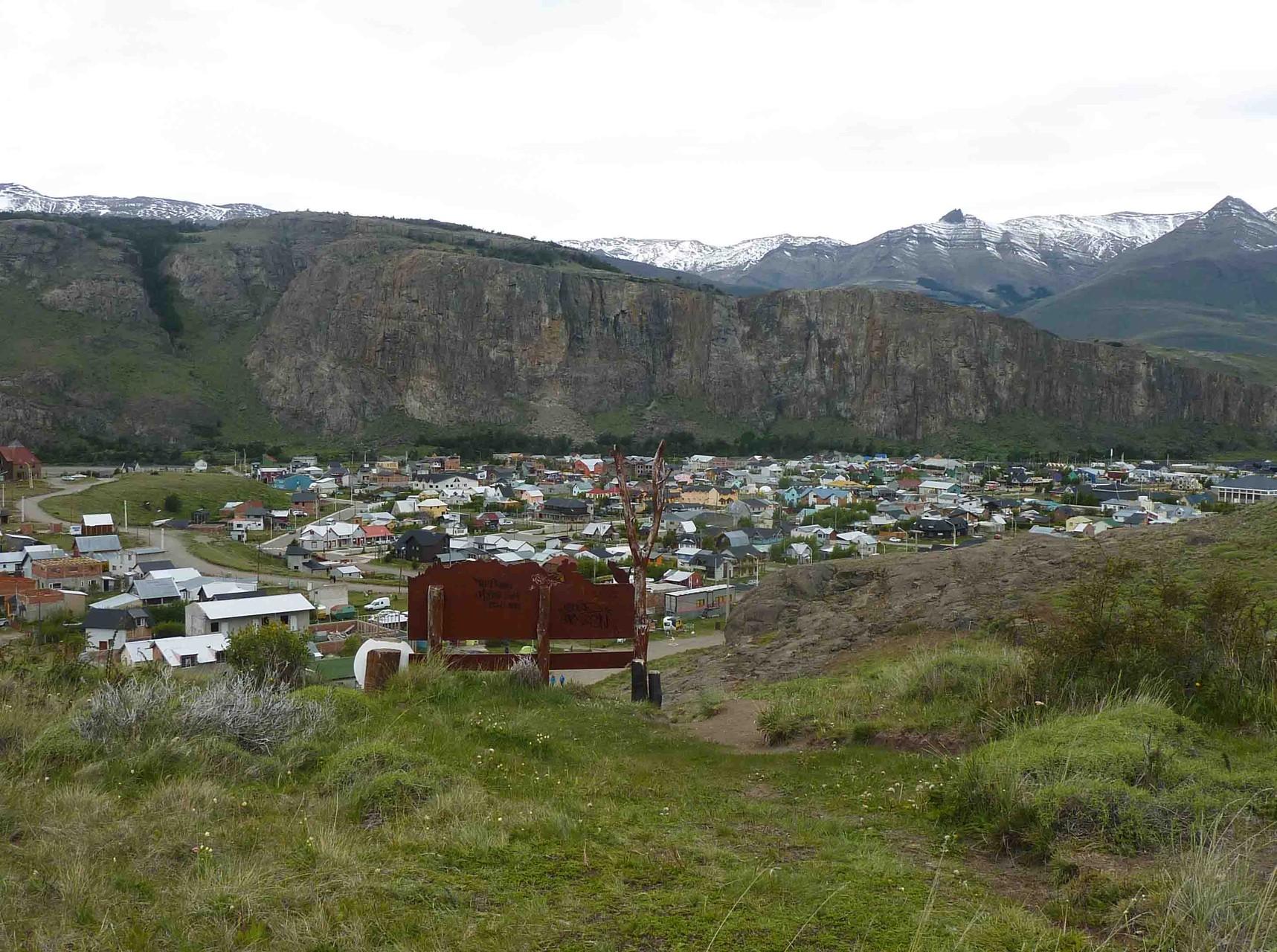 Au terme de ce trek, vue sur El Chalten