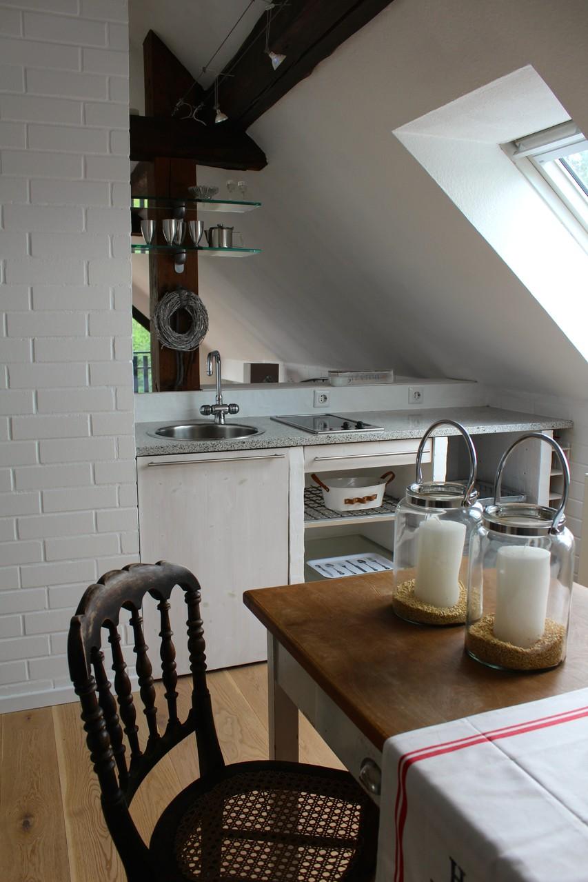 Die Teeküche unterm Dach