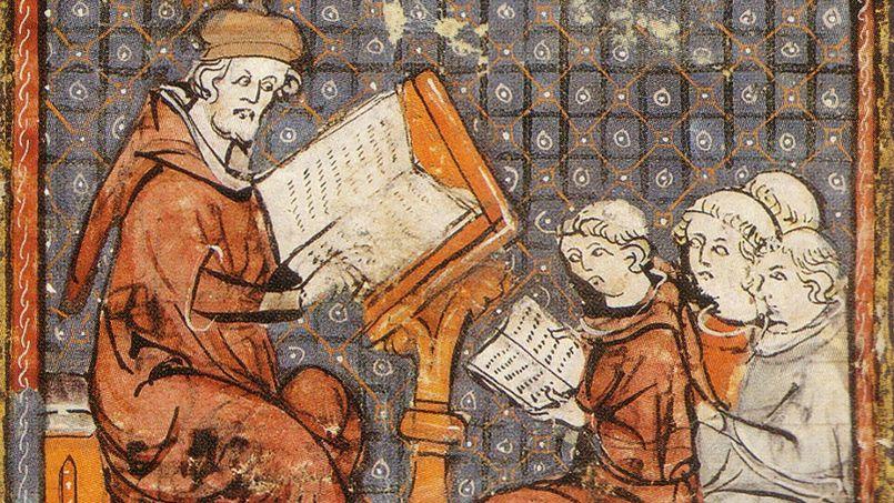 Un maître et ses élèves. Tous les cursus se font en latin ©Vol de nuit