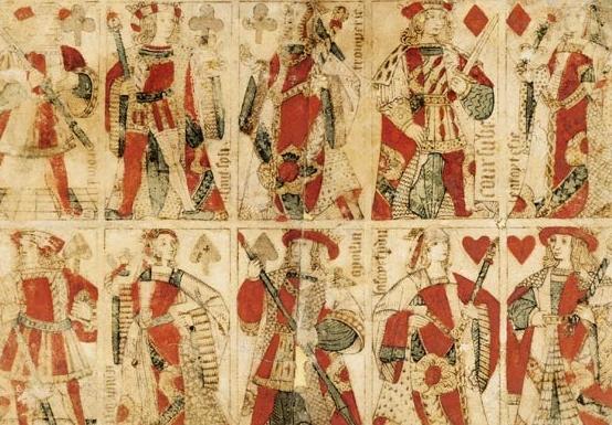 Jeu de cartes, Piquet de Charles VII, parfois nommé Coursube