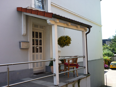"""Vordach aus Holz """"Stade"""" (1) - Foto: KÄPPLER BauTischlerei"""