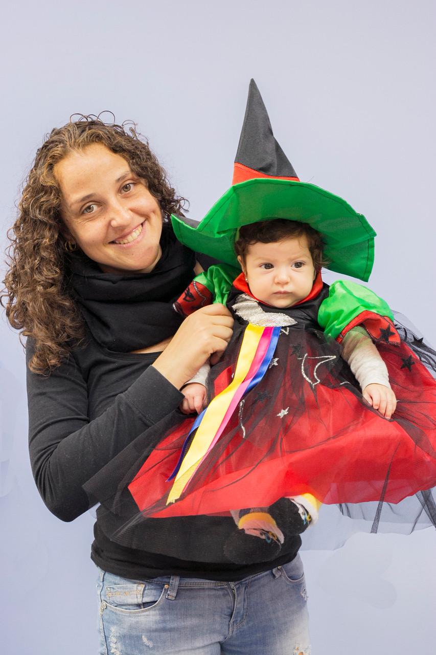 Maja y su pequeña Alexia