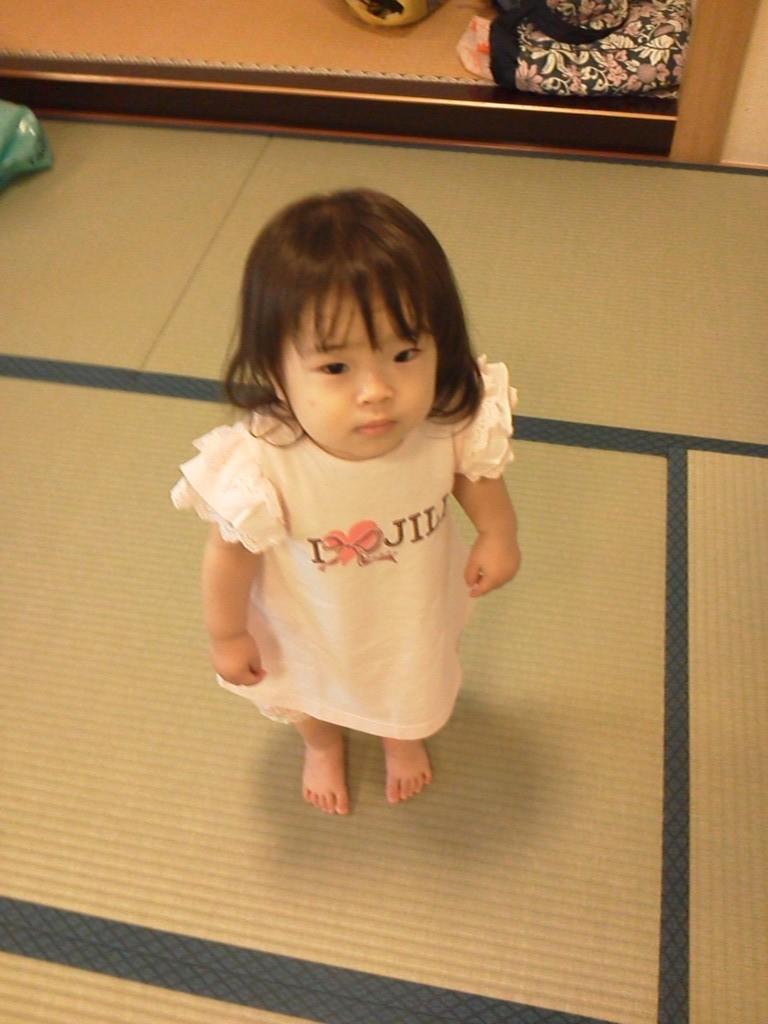 2012年7月 好奇心旺盛で楽しそうに冒険してるゆきちゃん!