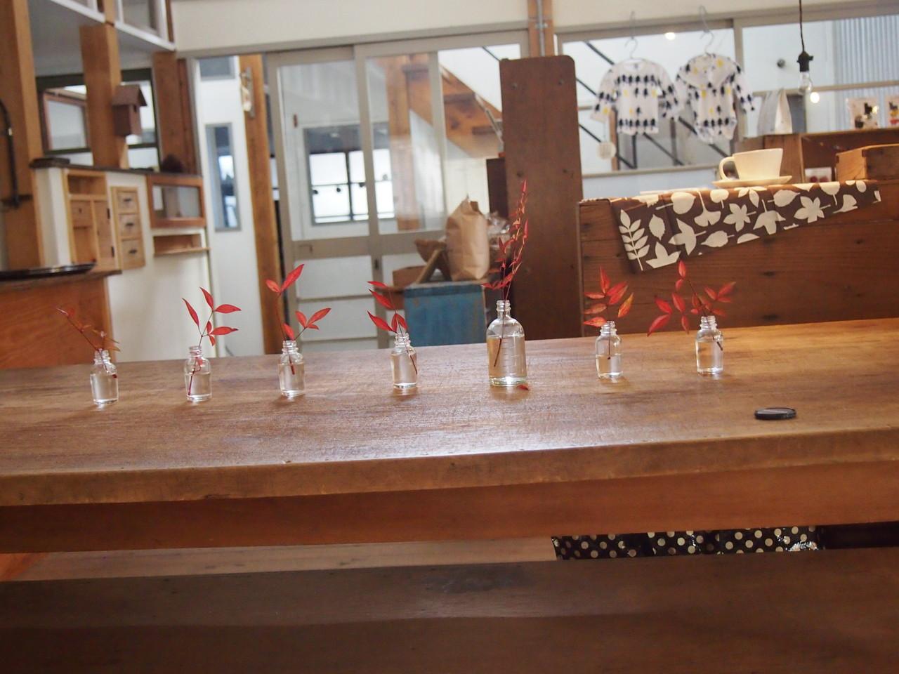 senkiyaさんのお庭をお借りして初イベント開催!素敵なカフェのお隣に雑貨ショップも。