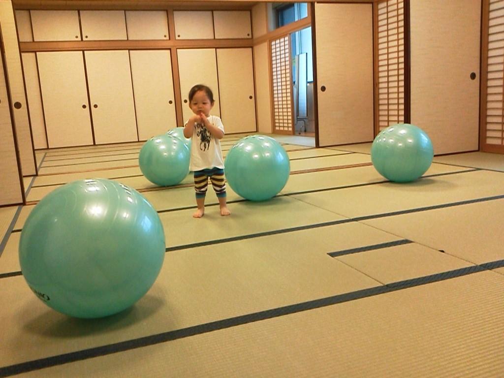 2012年7月 ボール一人占めで楽しむしゅんくんww