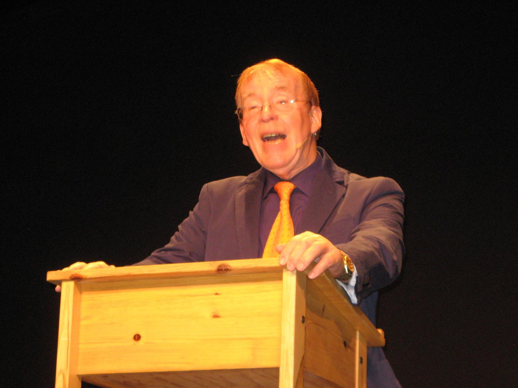 Jürgen Rudolph als Professor