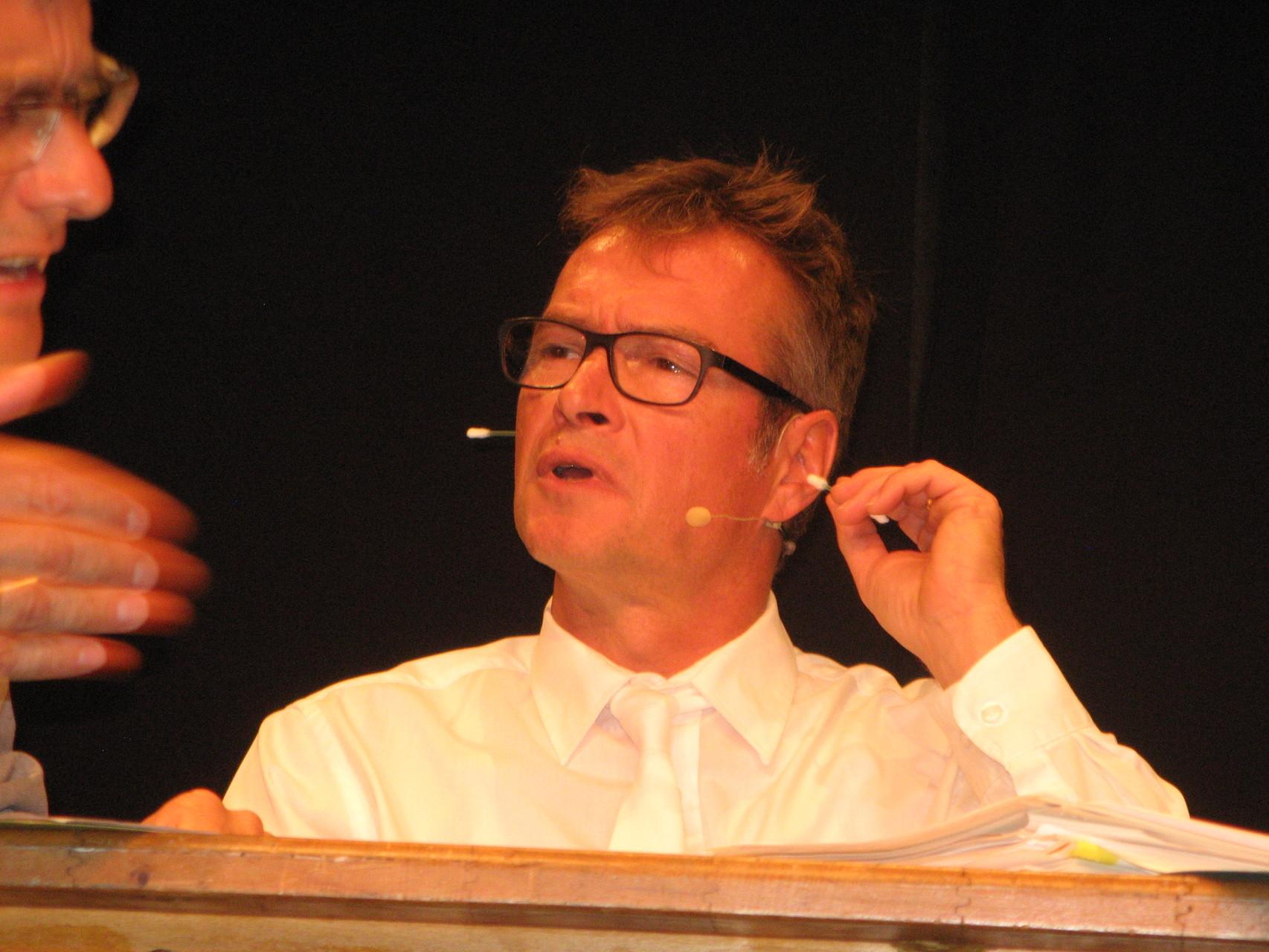 Felix Helmbrecht als beisitzender Richter