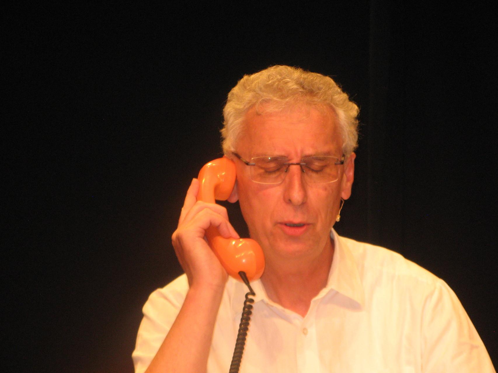 Wolfgang Kern macht home office