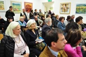 Pubblico presente alla presentazione del libro nella sala riunioni del Museo della Scuola.