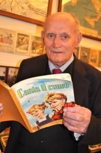 """""""I libri di testo degli anni passati erano pieni di illustrazioni adatte alla sensibilità poetica dei bambini""""."""