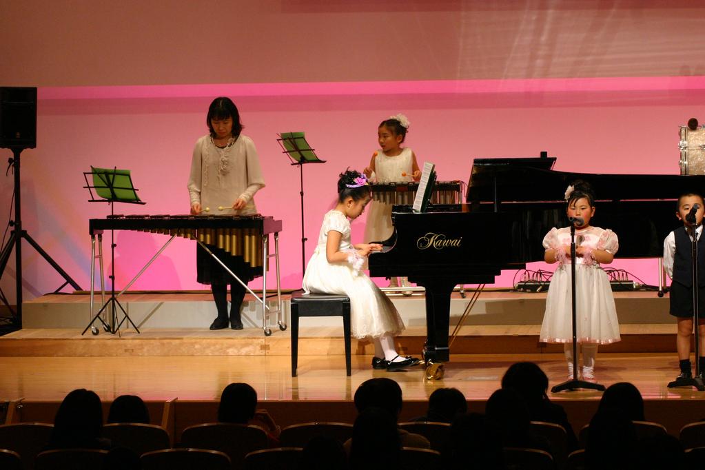 ♪ピアノ なつみちゃん 木琴 島田ママ