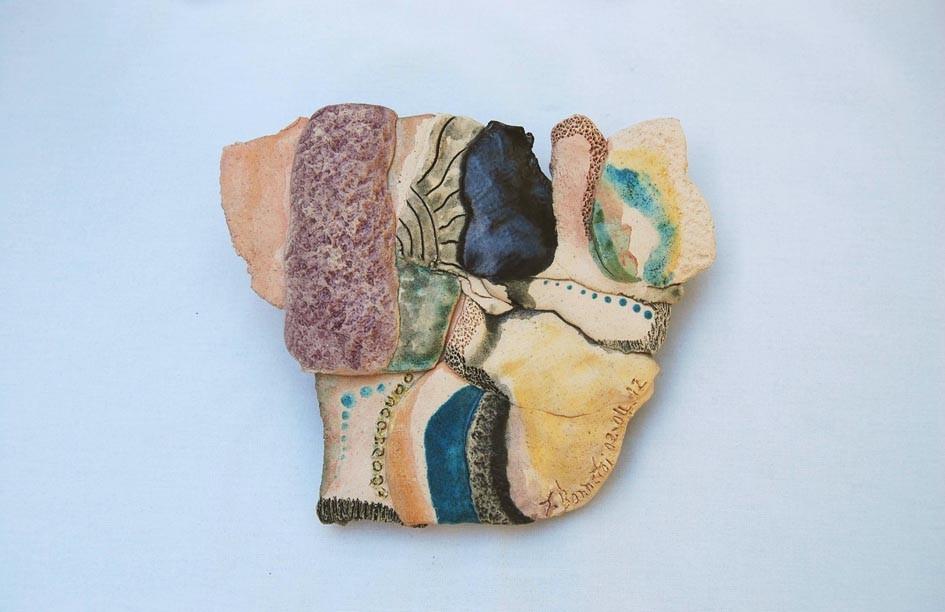 Opus 18 - 2012 - L 16 x H 13 cm - Faïence - Collection particulière