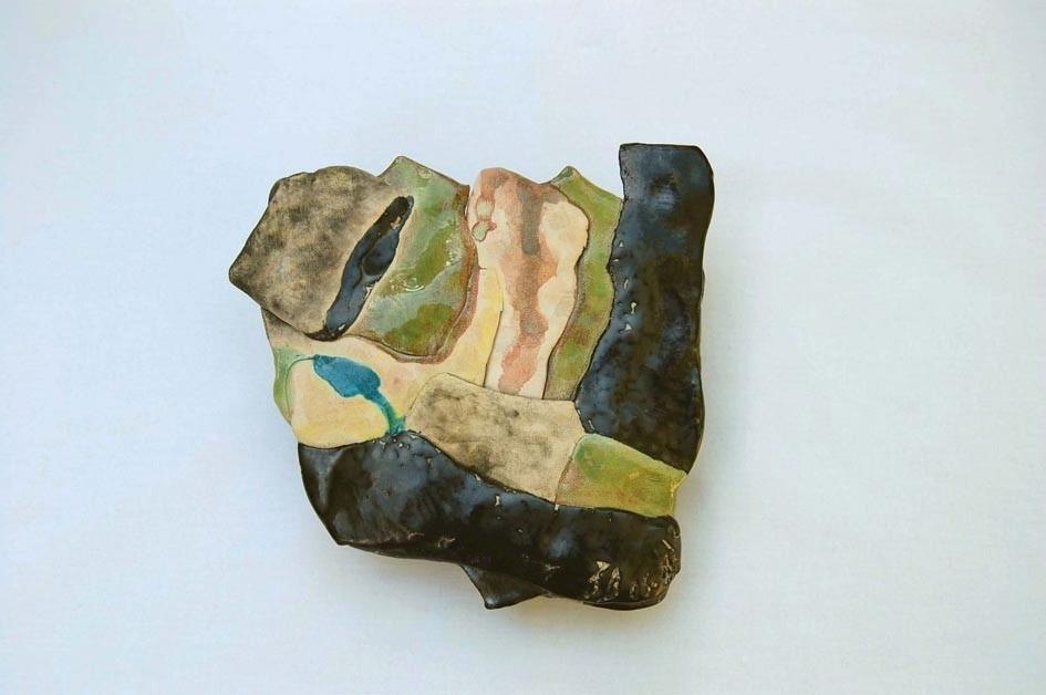Opus 4 - 2012 - L 12,5 x H 12 cm - Faïence - Collection particulière