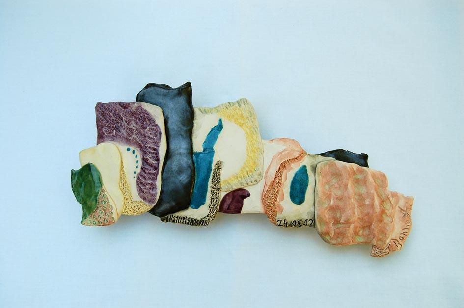 Opus 31 - 2012 - L 24 x H 12 cm - Faïence - Collection particulière