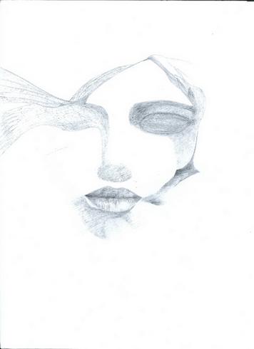 Eine Zeichnung von Khalid Aouga