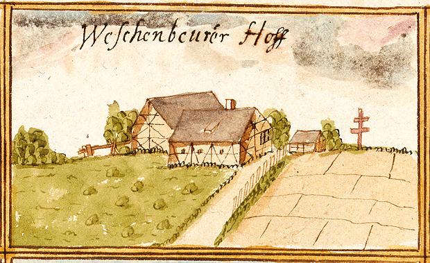 Aus den Forstlagerbüchern von Andreas Kieser, 1685