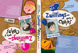 Zwillingschaos hoch zwei - Happy Birthday: Ein Wendebuch. Band 2