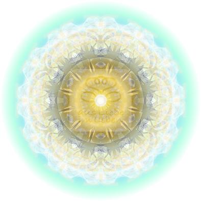 Lebendiger Meister-Kristall  © Susanne Barth, (persönliches Energiebild)