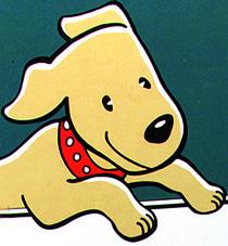 Marken- und Packungs-Design Figurentwicklung für Dein Bestes-Hundefutter-Range, dm-drogeriemarkt, Karlsruhe. Susanne Barth für Young & Rubicam Werbeagentur, Frankfurt