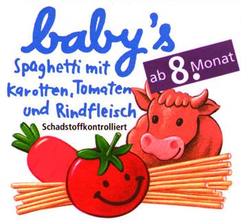 Marken- und Packungs-Design für baby's-Babykost-Range, dm-drogeriemarkt, Karlsruhe. © Susanne Barth