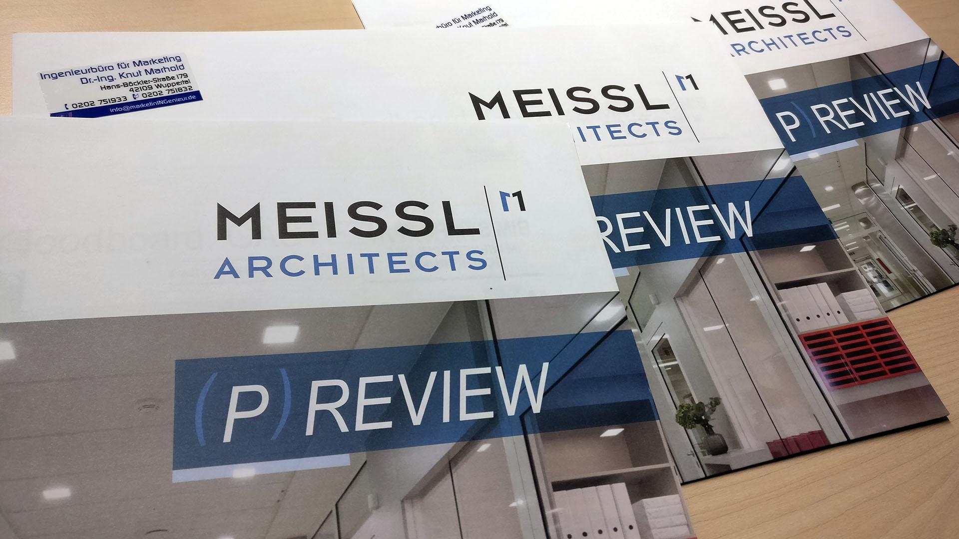 Kundenmagazin MEISSL ARCHITECTS