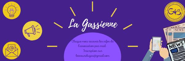 Gassienne Newsletter du GAS Groupe d'Appui et de Solidarité