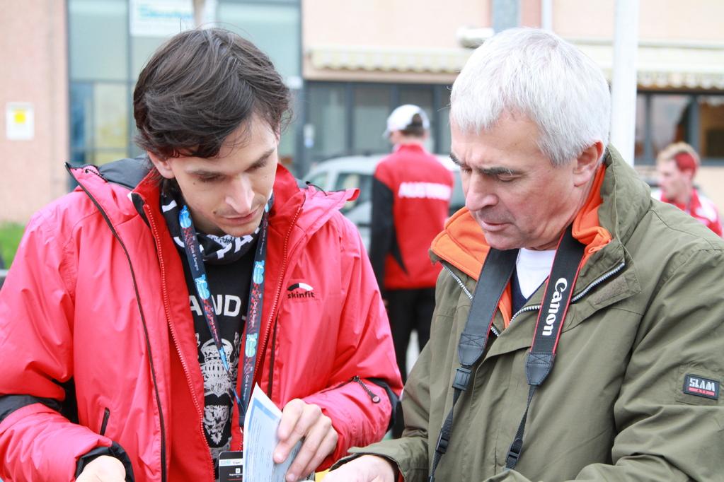 David Lilek mit Josef Lilek