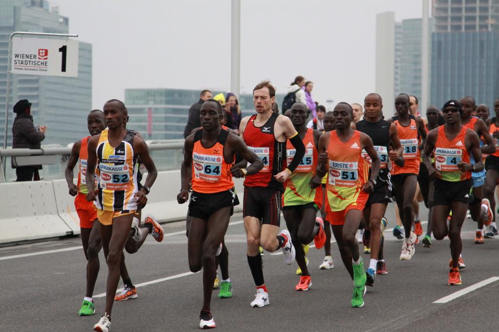 km1 Spitze Marathon