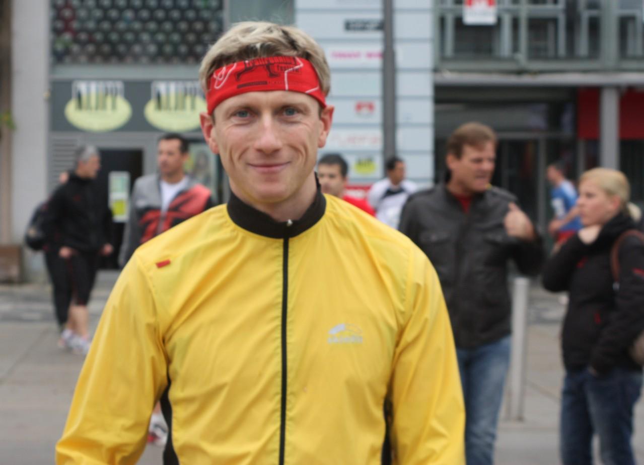 Werner Dietl   Sieger Hobbylauf