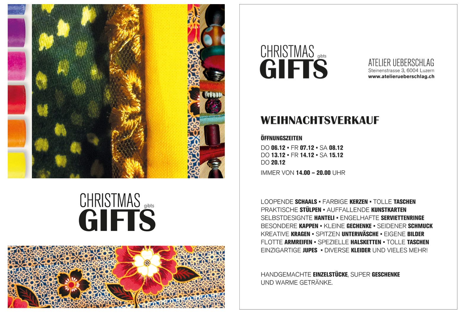 atelier ueberschlag - Grafik Design Jeanine Ueberschlag