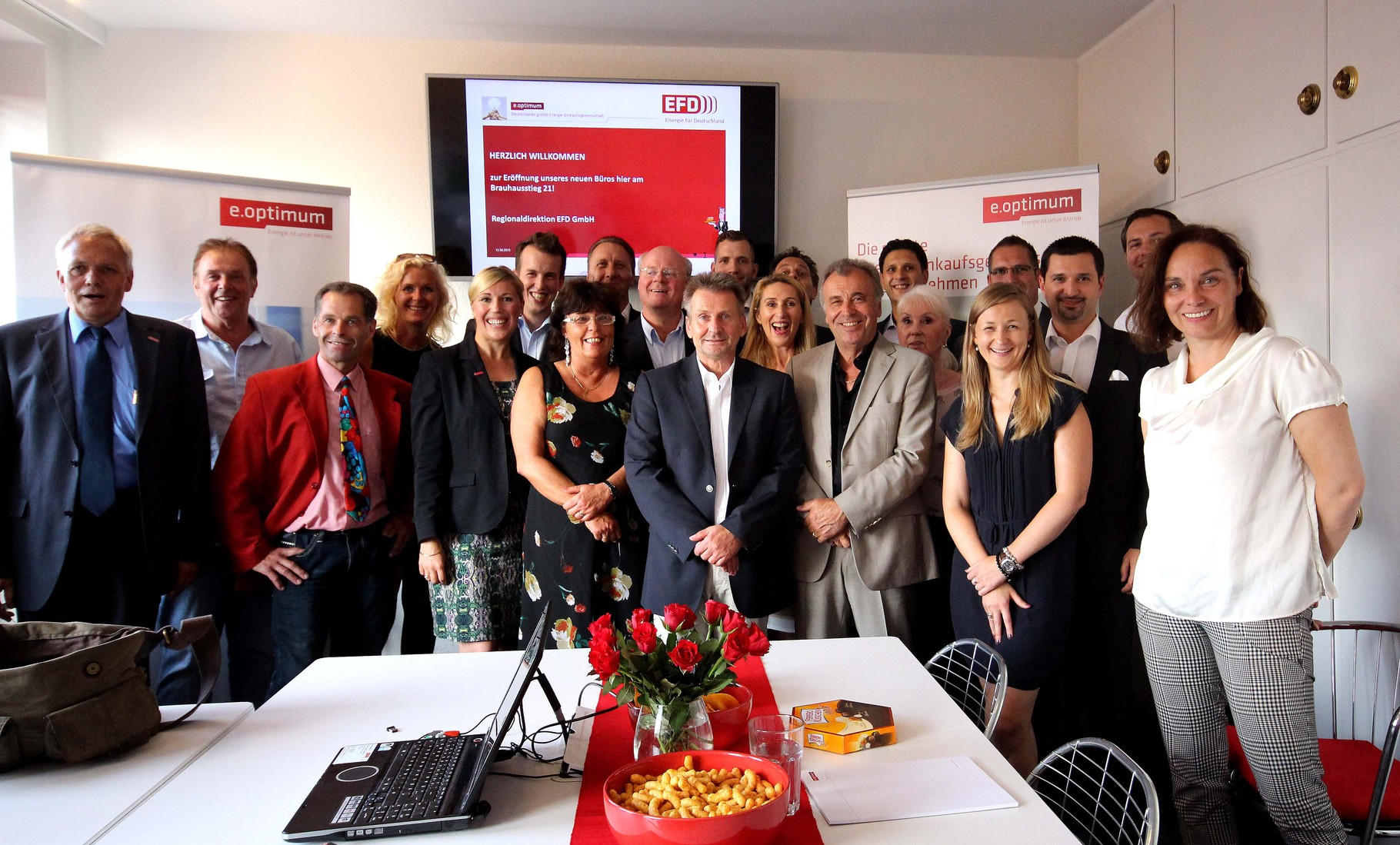 Das Team der Regionaldirektion EFD GmbH der e.optimum AG